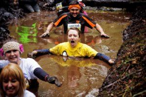 Mud-running